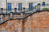 Windows and stairs, Beaune