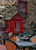Old tavern door