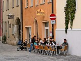 A Regensburg cafe