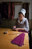 Seamstress, Colonial Williamsburg