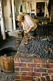 Blacksmith in Colonial Williamsburg
