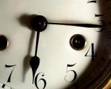 Dec 27: Fifteen and a half minutes past six