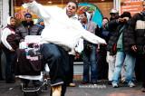 JB sidewalk dancers