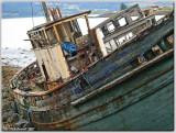 Abandoned fishing boats