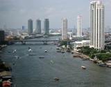 River Traffic on the Chao Praya