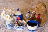 Time to relax with a Dutch morning tea
