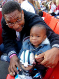 Marcus and I at the Game