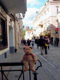 Visitng the Old Town in Vilnius