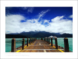 The Sun Moon Lake -Partly Cloudy