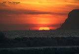 Sunset at Cornado Beach