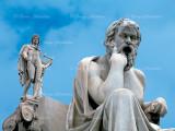 Philoshoper Plato and God Apollo
