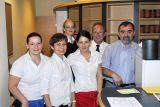 Manfred Kendlbacher mit seiner Mannschaft