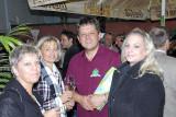 Christian Wallner mit charmanten Gästen