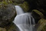 Wasser, eine Sekunde