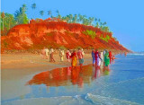INDIA -  BEAUTIFUL  KERALA  BEACHES