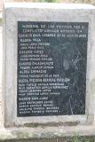 Recuerdo de las Victimas de la Guerra Interna
