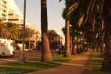 Ocean Avenue en Santa Monica