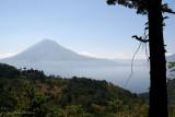 Vista Panoramica del Lago de Atitlan