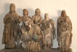 Esculturas Religiosas Antiguas en la Iglesia