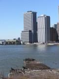 Manhattan view from The Promenade