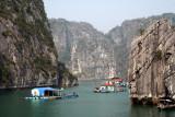 Fishing village - Halong Bay - Vietnam