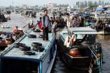 Floating market - Can Tho - Mekong delta - Vietnam