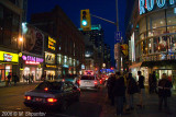 Yonge Street Decorations, Toronto, Christmas