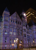 Old City Hall Light Performance, Toronto, Christmas