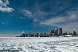 Toronto in Ice and Clouds