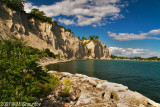 Scarborough Bluffs, Lake Ontario,