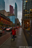 Yonge Street. Rainy Morning.