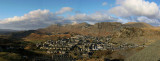 Panoramic over Blaenau