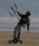 Power kite at Porthmadog
