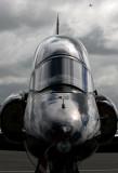 Hawk trainer at RAF Valley