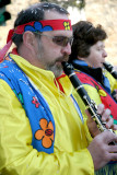 Hippie Clarinet Player