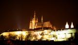 Prague Night Castle