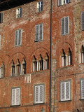 Old buildings in the piazza San Michele