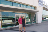 Julie and Eric at PBS (Paul Brown Stadium)