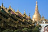 Eastern Stairway To Shwedagon Pagoda (Dec 06)