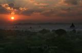 Magical Sunrise Over Bagan (Dec 06)