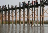 U Bein Bridge, Amarapura (Dec 06)