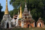 Stupas, Near Mandalay (Dec 06)