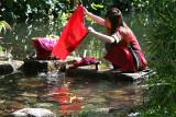Girl Washing Clothes (10 Jun 07)