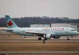Air Canada Airbus A320 (C-GPWG)