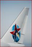 Star Triple Seven (Ernest Angley Ministries) Boeing 747SP-31 (P4-FSH) **Vertical Stabilizer Detail**