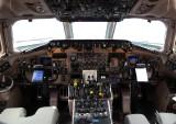 Midwest Airlines McDonnell Douglas MD-81 (N804ME) **Cockpit**