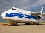 Russian Antonov-124 (Volga-Dnepr Airlines & Polet Flight)