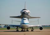 NASA Boeing 747-123(SCA) (N905NA) & Space Shuttle Atlantis Orbiter (OV-104)