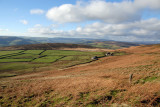 From Stanage, wide open spaces