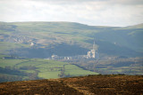 Cement Works from Stanage